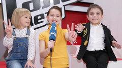 Ярослава Дегтярева иДанил Плужников. Интервью сфиналистами. Голос.Дети-3
