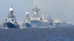 Впервые вновейшей истории России вСанкт-Петербурге прошел Главный военно-морской парад