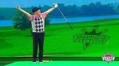 Опытный гольфист Михаил Ефремов. Лучше всех! Фрагмент выпуска от06.11.2017