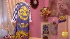 Платье изтельняшки отОльги Никишичевой. Доброе утро. Фрагмент выпуска от21.02.2017