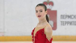 Анастасия Тараканова. Короткая программа смотреть онлайн 02.02.2019