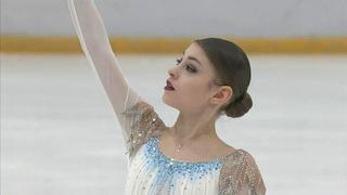 Алена Косторная. Короткая программа смотреть онлайн 02.02.2019