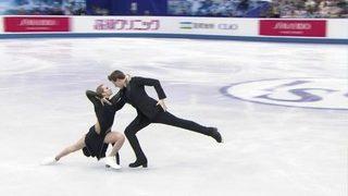 Ритм-танец. Танцы. Командный чемпионат мира пофигурному катанию 2019